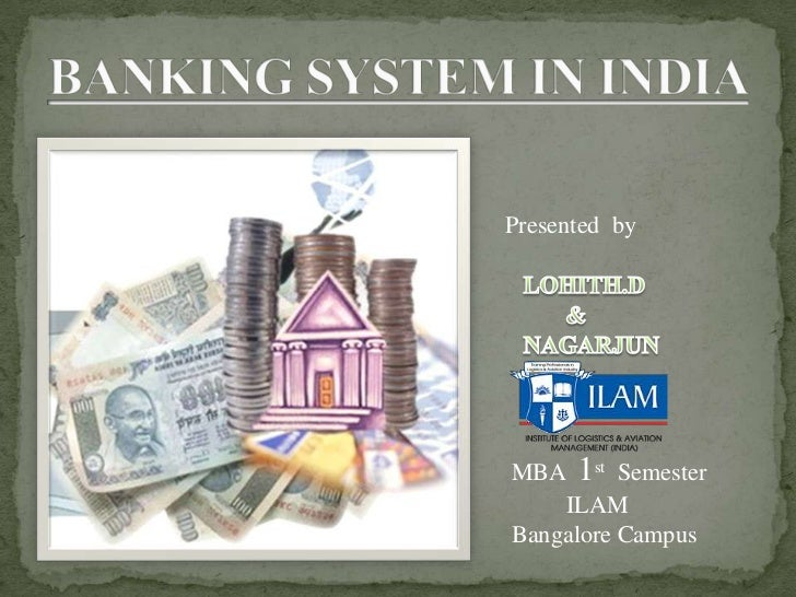 synopsis indian banking system The advent of the indian banking system started with the establishment of the first joint stock bank, the general bank of india in the year 1786.