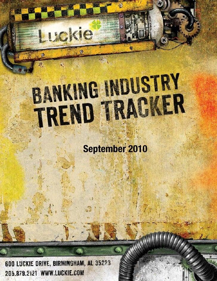 Banking Trend Tracker September 2010