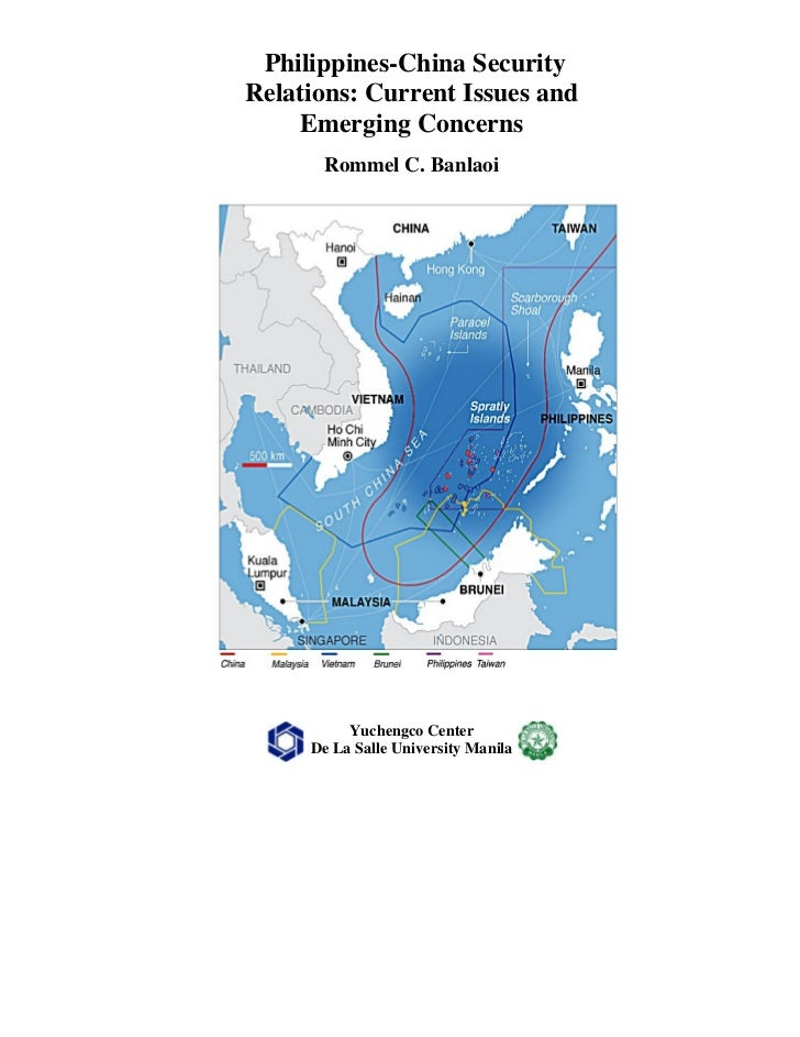 Philippines-China Security Relations published by Yuchengco Center