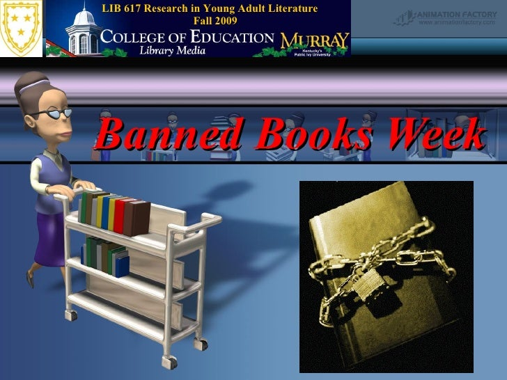 Banned Books Week:  2003 version