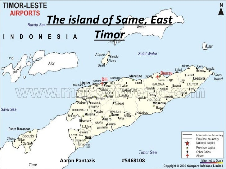 The island of Same, East Timor Aaron Pantazis  #5468108