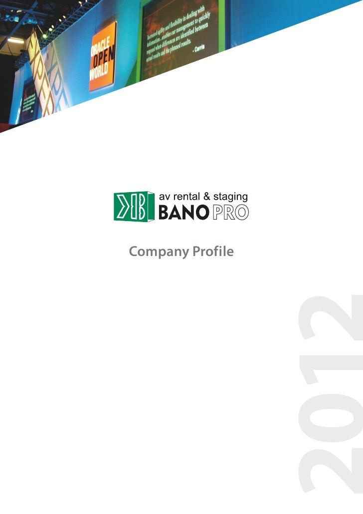 BanoPro | Companyprofile