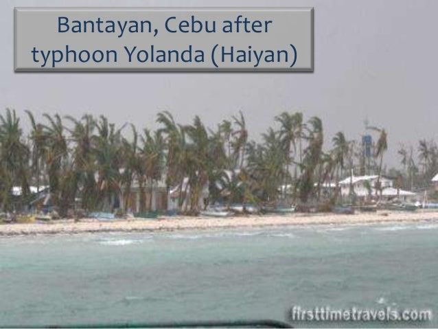 Bantayan after Haiyan