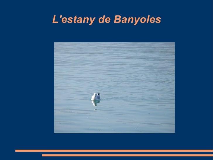 L'estany de Banyoles