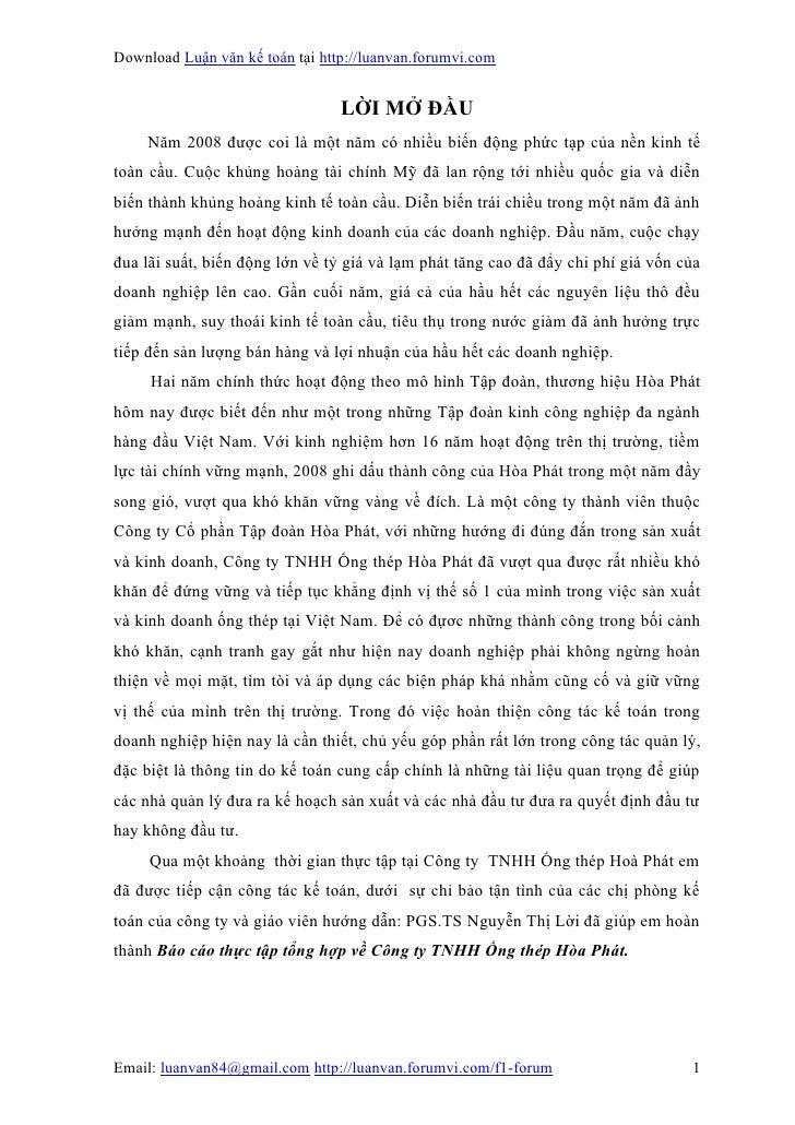 Download Luận văn kế toán tại http://luanvan.forumvi.com                                 LỜI MỞ ĐẦU    Năm 2008 được coi l...