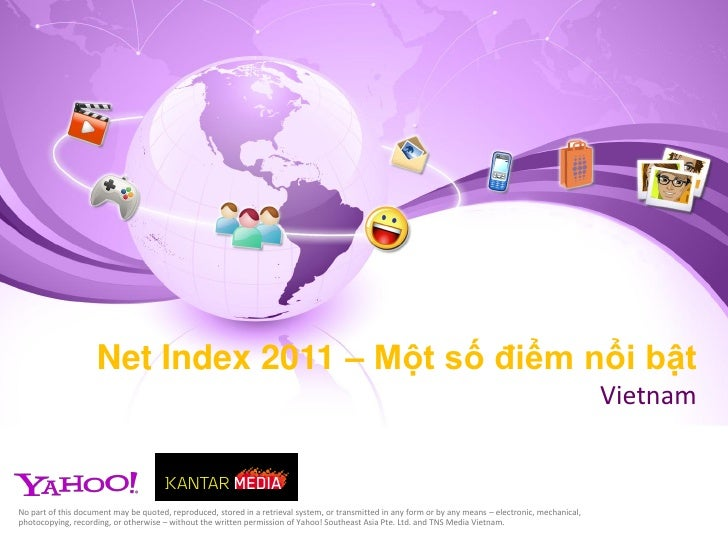 Bao cao tinh hinh su dung Internet cua nguoi viet trong nam 2011