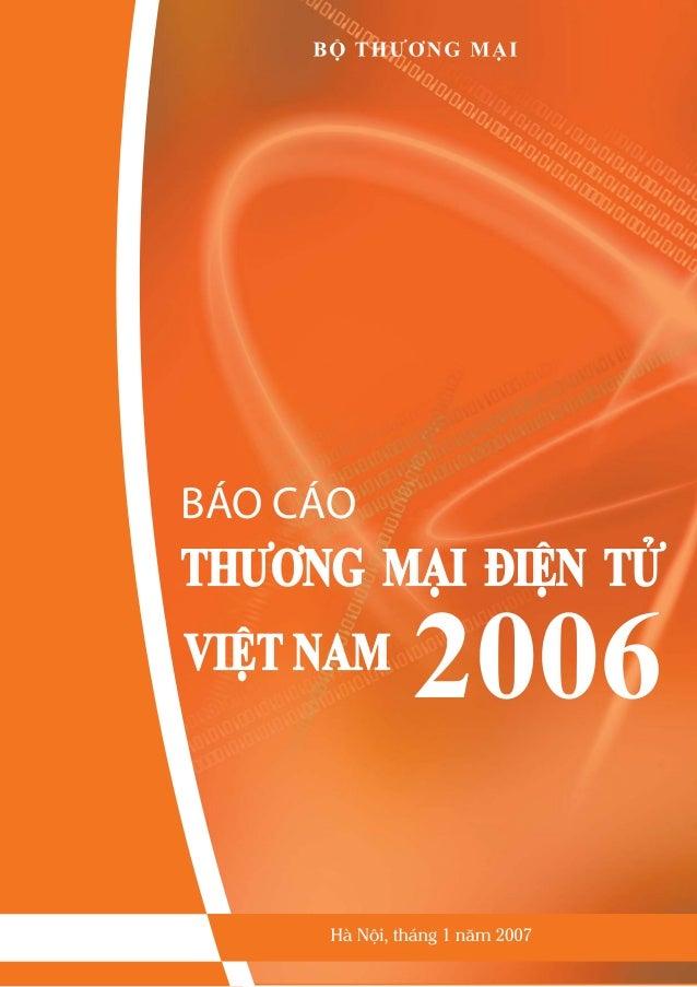 Báo cáo thương mại điện tử 2006
