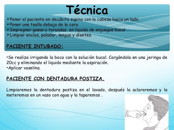 Baño En Tina Del Paciente:Baño del paciente
