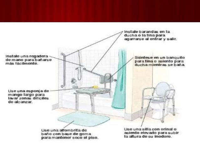 Baño En Ducha De Un Paciente:Baño del paciente en ducha y silla