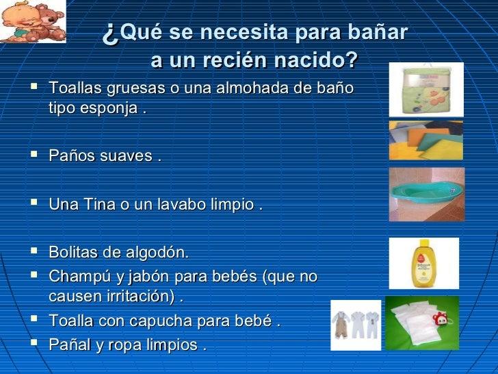 Baño De Tina O Artesa:Baño del recien nacido