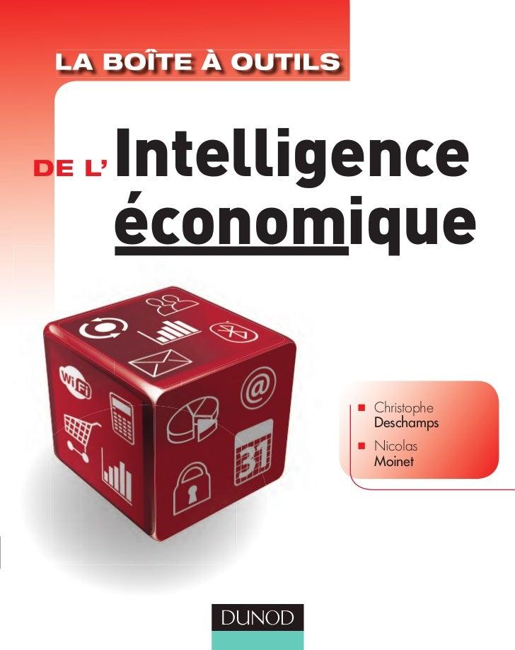 DE L'   Intelligence        économique                I   Christophe                    Deschamps                I   Nicol...