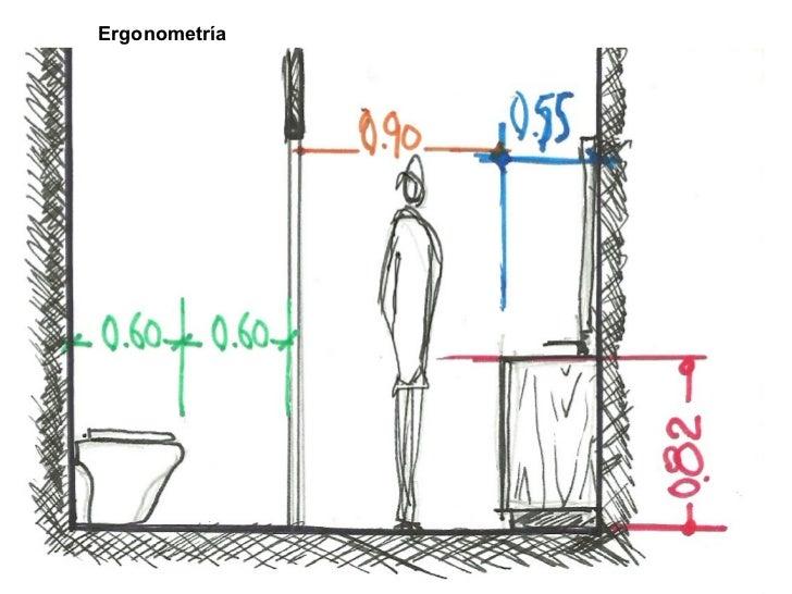 Medidas Baño De Servicio:bañotodas las medidas 2 esquemas básicosesquemas básicos 3 baño