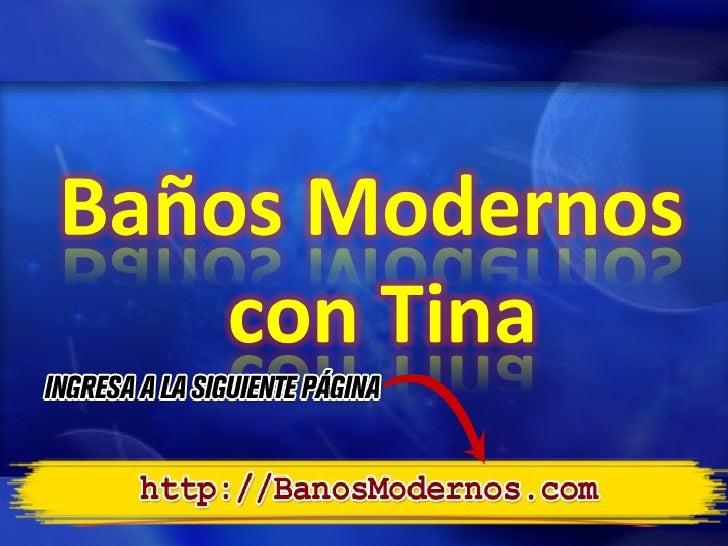 Tinas De Baño Tamanos:Baños modernos con tina