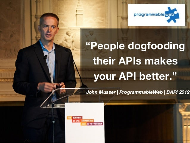 The Business of APIs Conference - Speaker Quotes