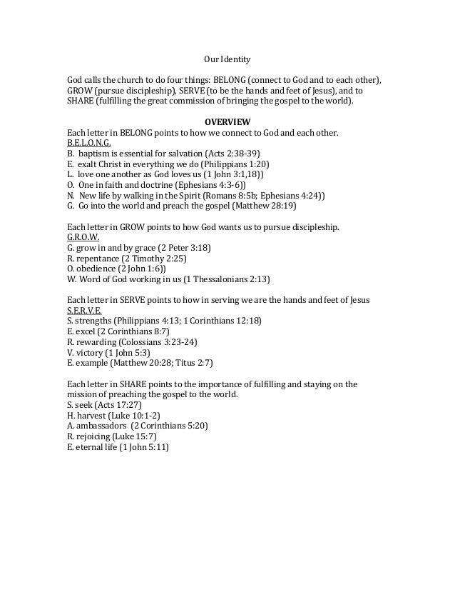 Baptism document