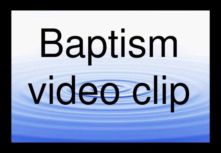 Baptism Dvd Movie 2
