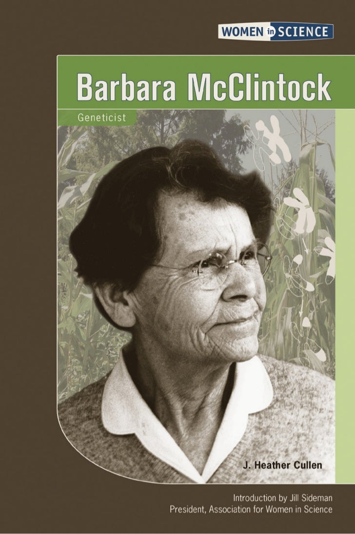 BarbaraMcClintock     Geneticist