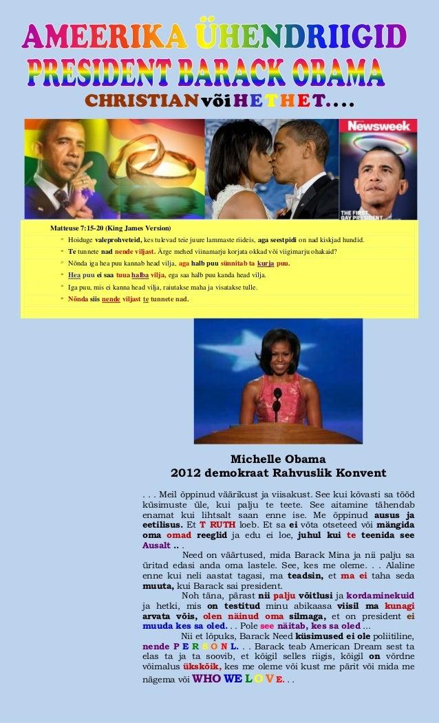 Barack obama   christian or heathen (estonian)