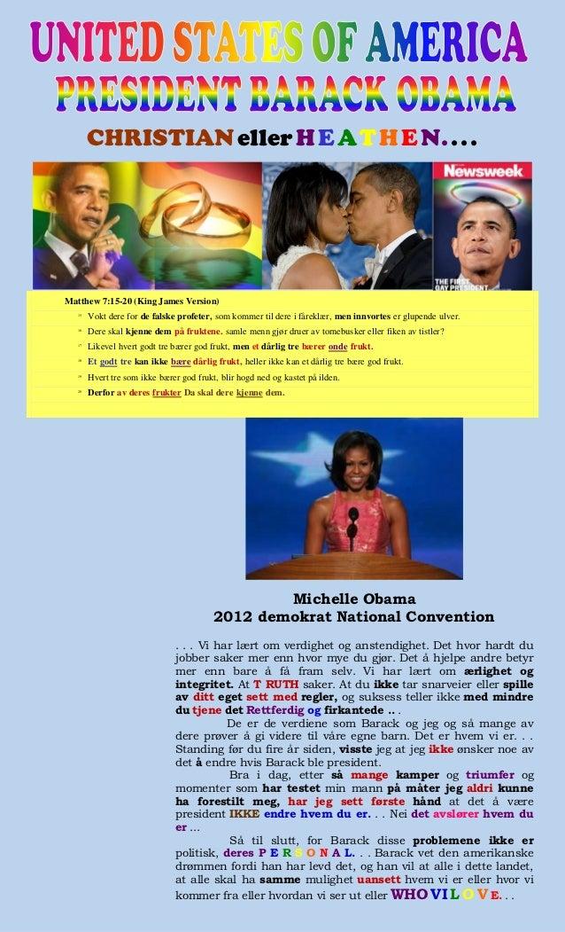 CHRISTIAN eller H E A T H E N. . . .Matthew 7:15-20 (King James Version)  15       Vokt dere for de falske profeter, som k...
