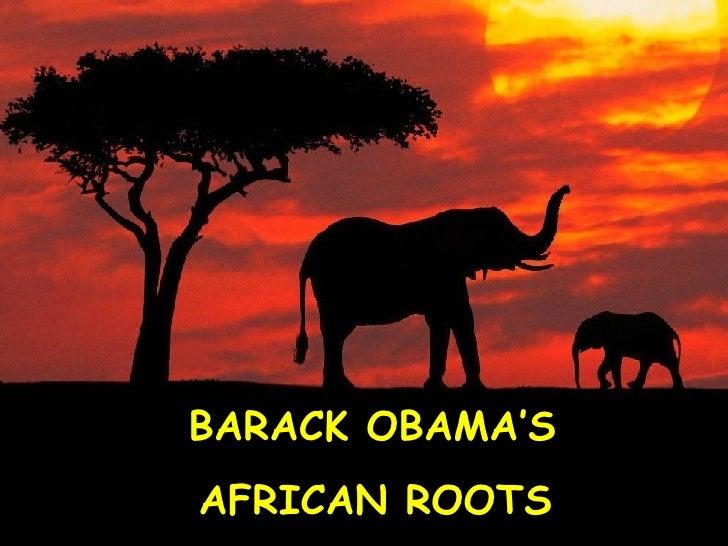 Barack Obama's African Roots