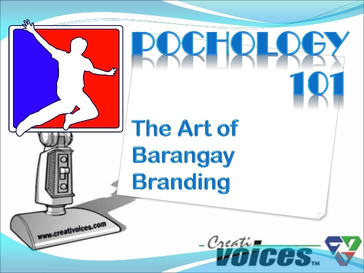 Barangay branding