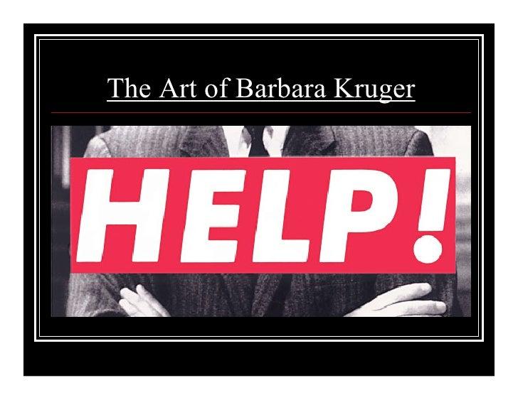 The Art of Barbara Kruger