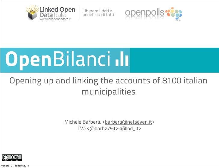 Presentazione openBilanci