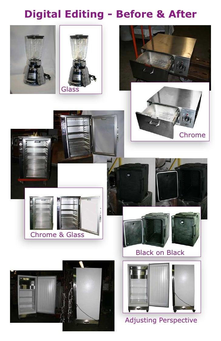Digital Editing - Before & After             Glass                                      Chrome      Chrome & Glass        ...