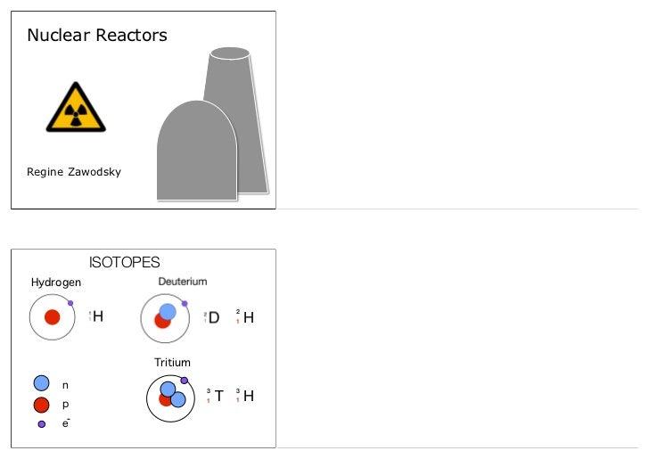Nuclear ReactorsRegine Zawodsky           ISOTOPESHydrogen                                    2                           ...