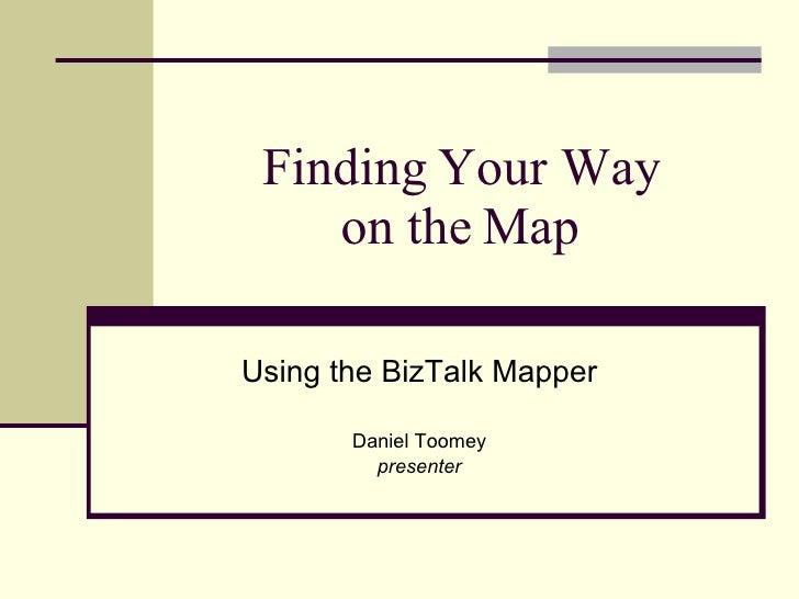 Using the BizTalk Mapper