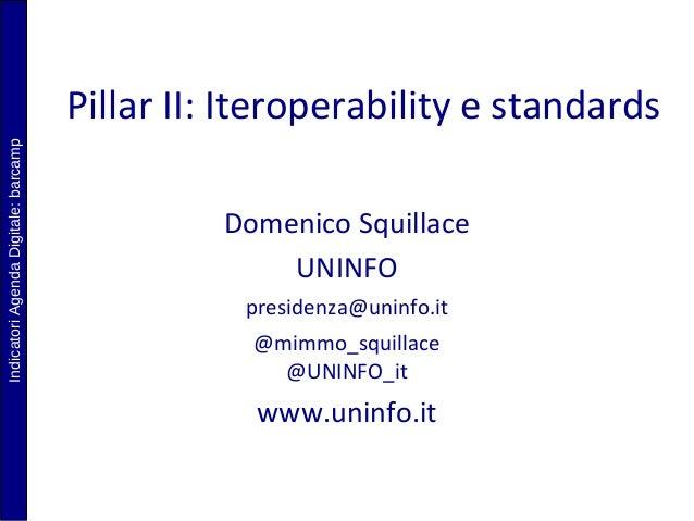 Presentazione UNINFO per Barcamp a Montecitorio