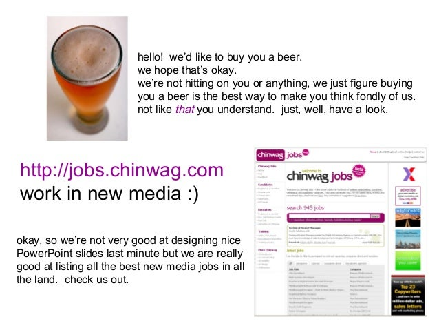 BarCamp Scotland 2007  Chinwag Slide  Sponsor