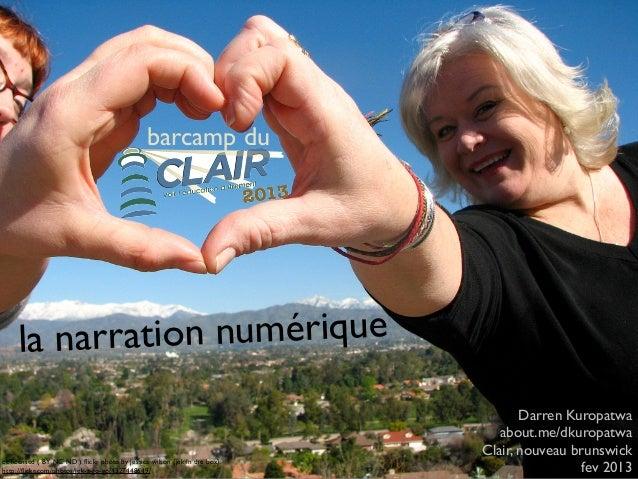 Barcamp du Clair2013