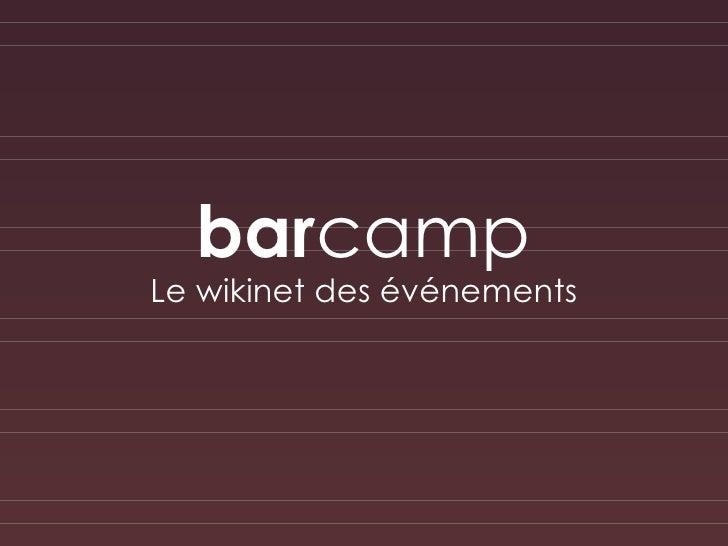 BarCamp : le PointPuissant