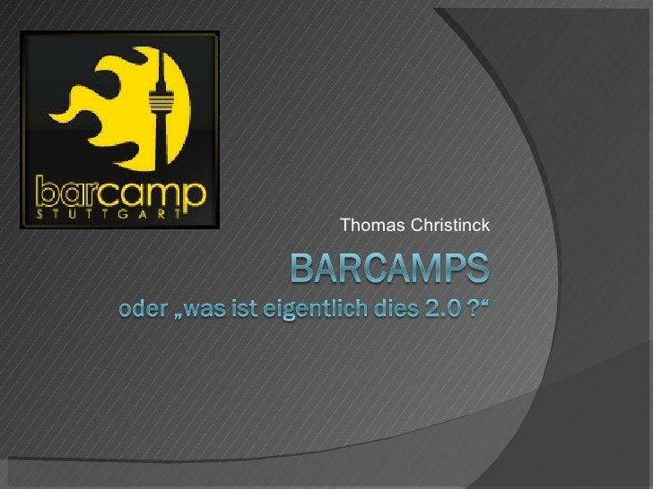 Barcamps