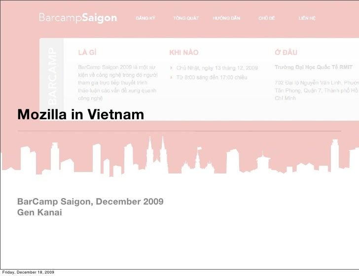 Mozilla in Vietnam 2009