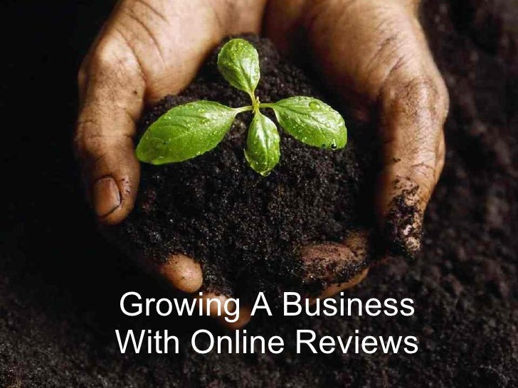 Growing A Business With Online Reviews