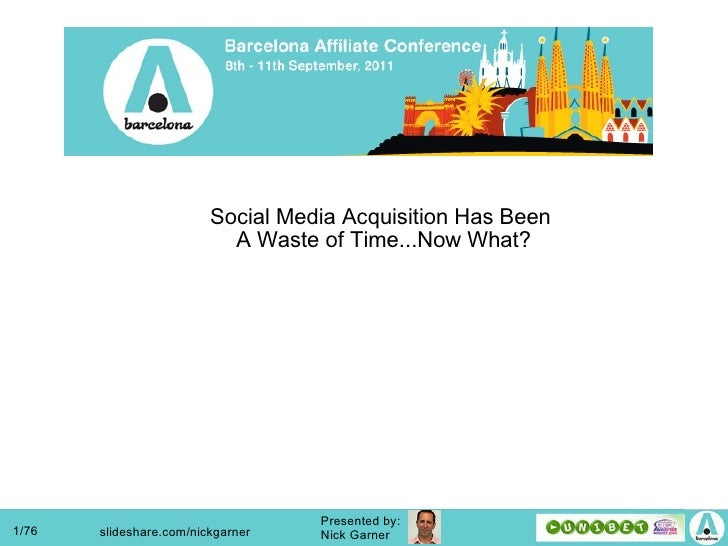 Social media acquisition ha sbeen a waste of time - now what?