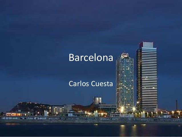 Barcelona Carlos Cuesta