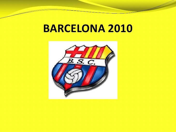 BARCELONA 2010<br />