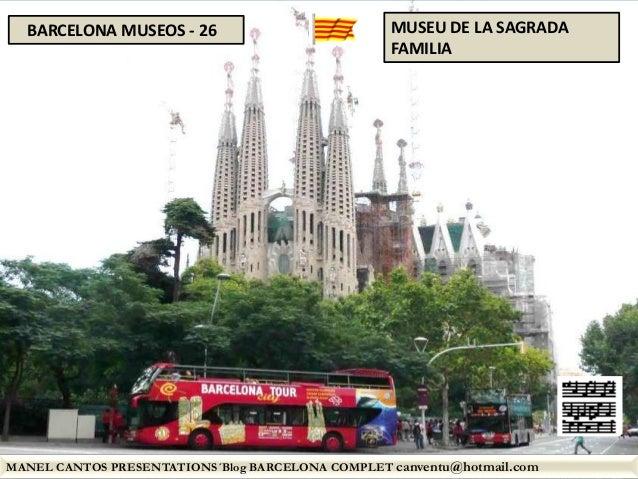 BARCELONA MUSEOS 26 - MUSEU DE LA SAGRADA FAMILIA