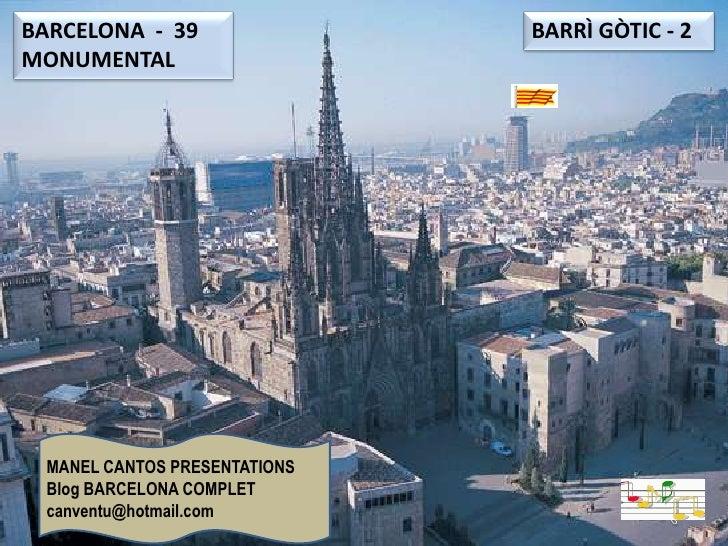 BARCELONA 39 BARRÍ GÒTIC - 2