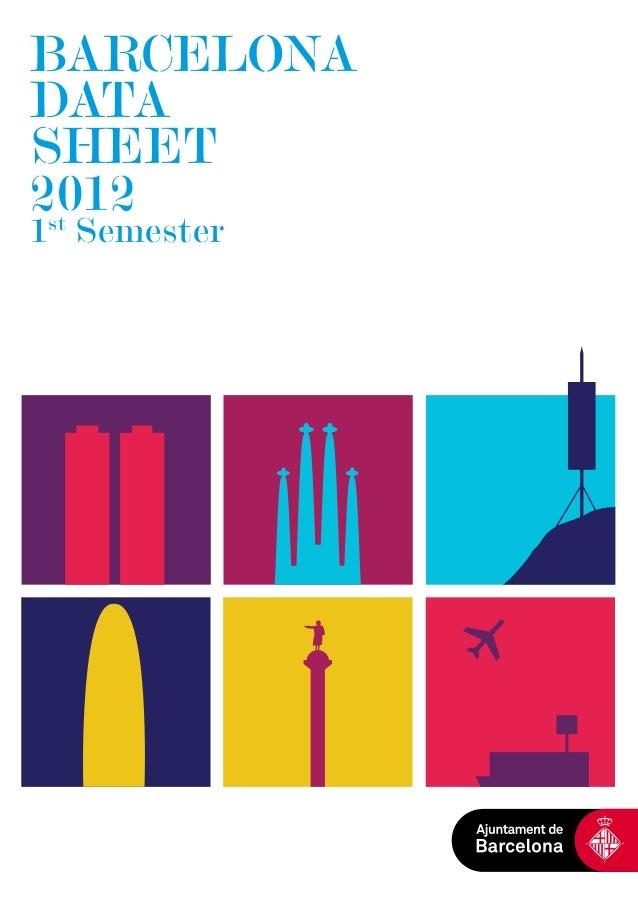 Barcelona Data Sheet 2012 (1st.Semester)