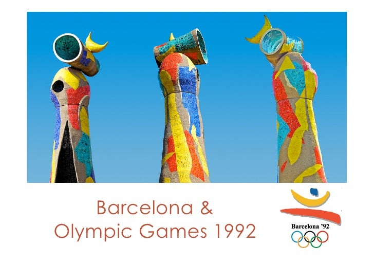 Barcelona & 1992 Olympic Game
