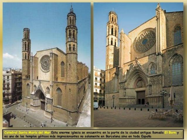 Catedral Del Catedral Santa María Del Mar