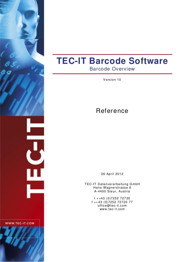 Barcode reference en
