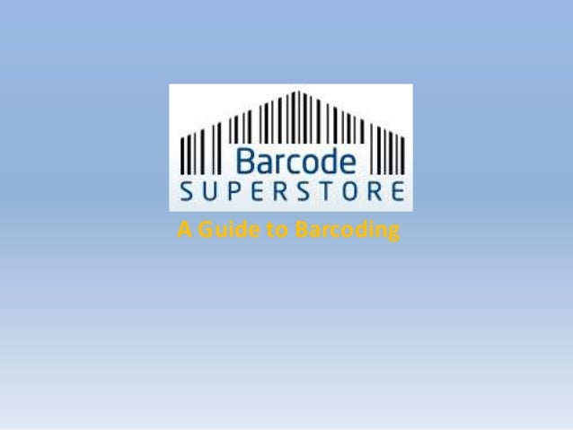 A Guide to Barcoding