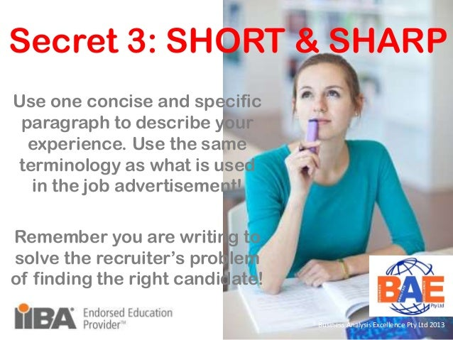 useful tips on how to write business analyst There are five essential business analyst skills necessary to succeed  resume tips / five essential business analyst skills to  a business analyst to write .