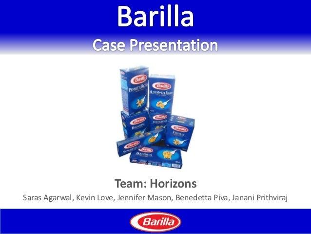 Team: HorizonsSaras Agarwal, Kevin Love, Jennifer Mason, Benedetta Piva, Janani Prithviraj