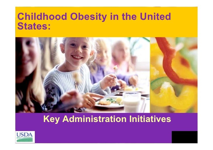 Childhood obesity in the United States: key administration initiatives - Suzanne Heinen